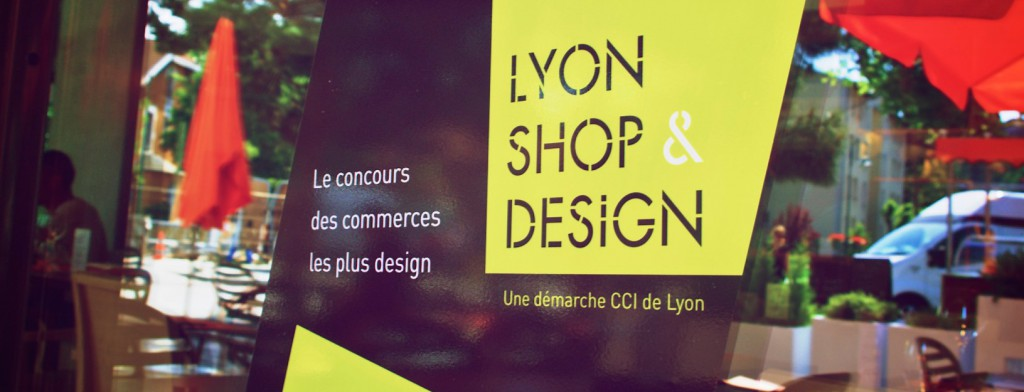 Lyon Shop Design Artprint