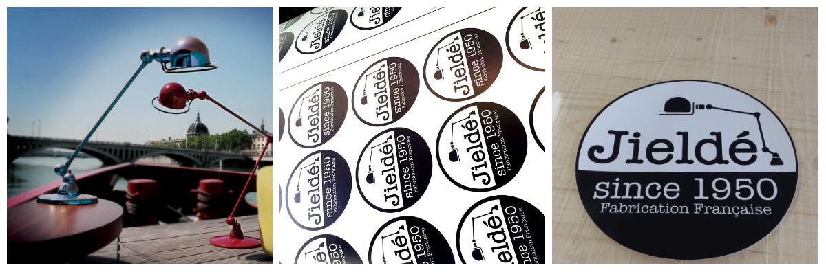 jieldé artprint stickers marque design adhésif