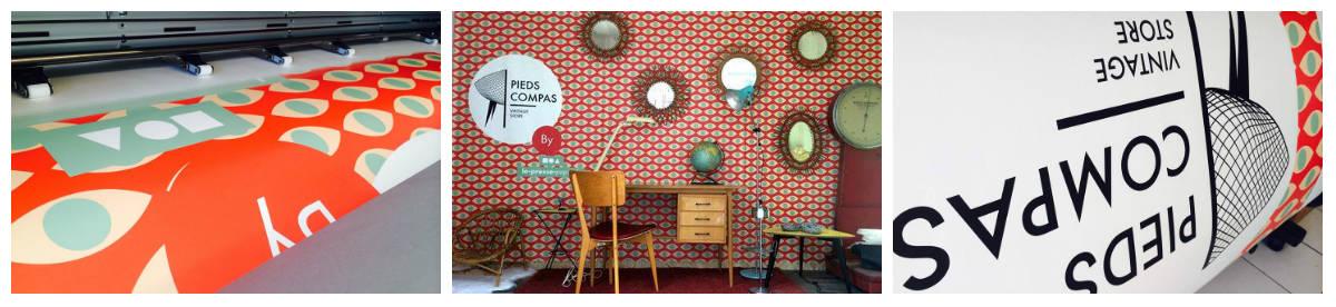 artprint-impression-numerique-pied-compas-décoration-papier-peint