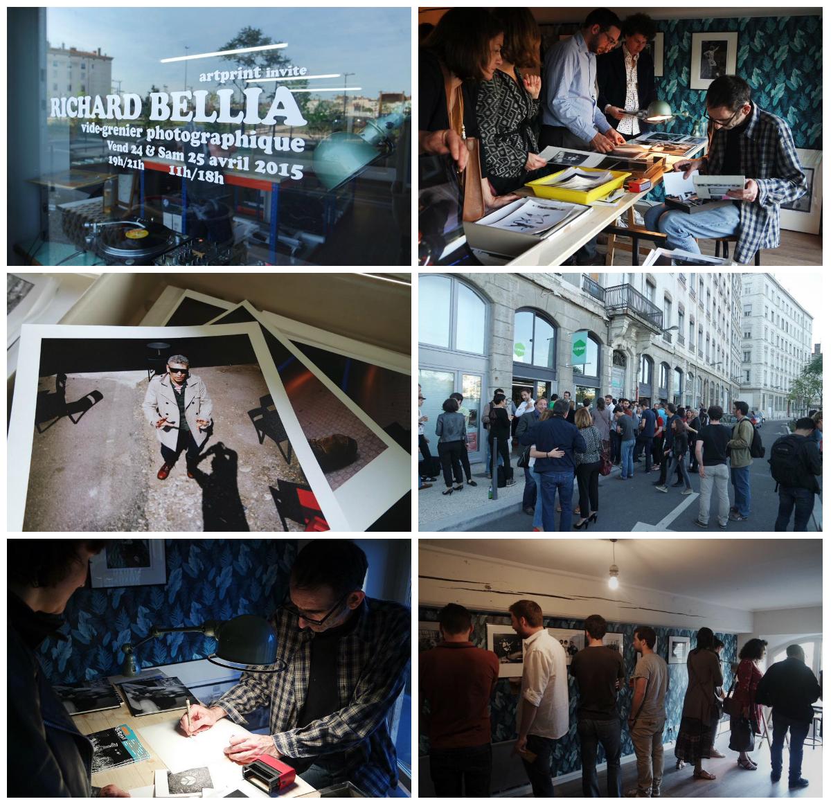 Richard Bellia Artprint événement