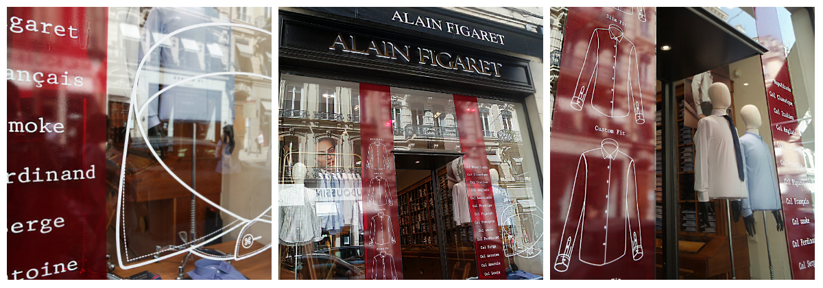 figaret artprint lyon boutique adhésif vitrine